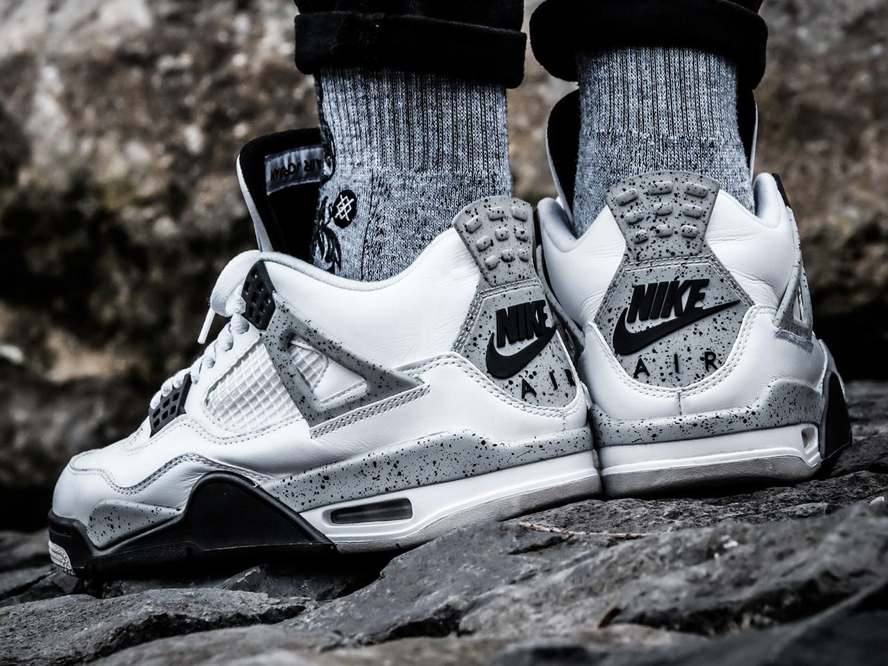 brand new 39ed3 efa64 Nike Air Jordan 4 - White Cement - 2016 (by ginogold) Shoe trees are no new  concept but Sole Trees brings protection to the shape and integrity of  sneakers ...
