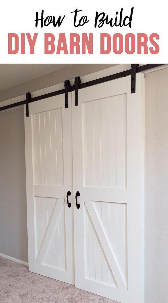 How To Build Barn Doors Pinterest Cheap Barn Doors Double Barn