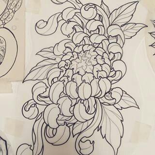 pingl par angela damasio sur tattoo fleures pinterest. Black Bedroom Furniture Sets. Home Design Ideas