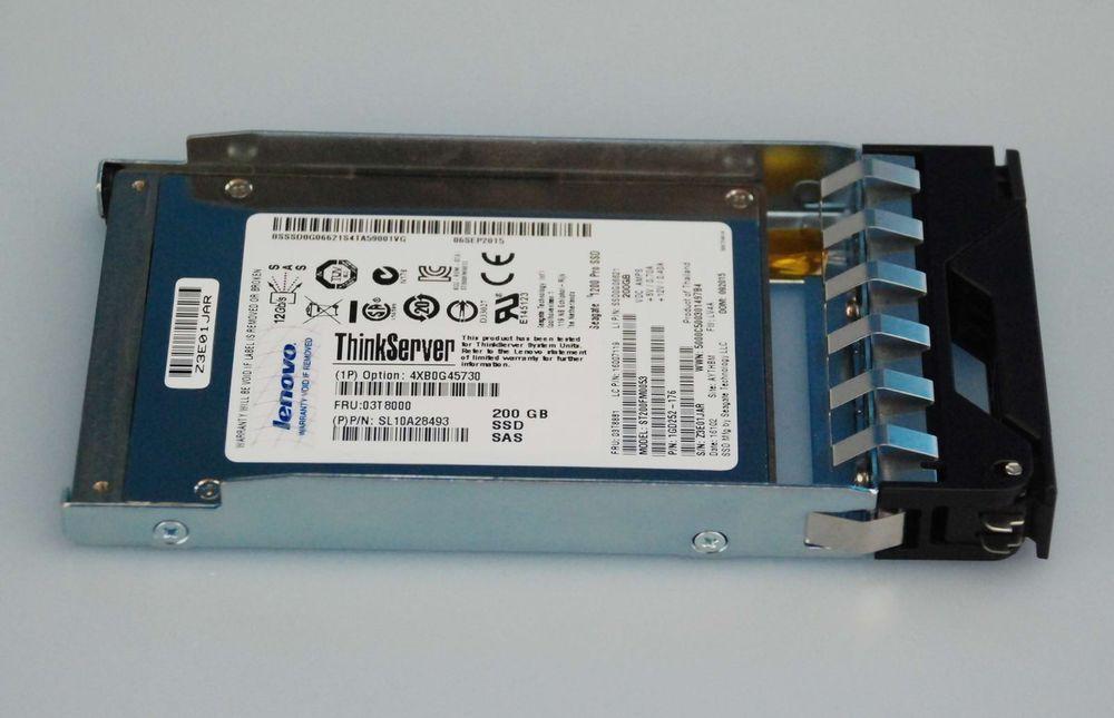 """IBM 49Y6130 49Y6129 49Y6133 SYSTEM X 200GB SAS 6Gb 2.5/"""" SOLID STATE SSD DRIVE"""
