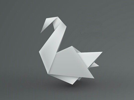 Origami Swan Around The World Pinte