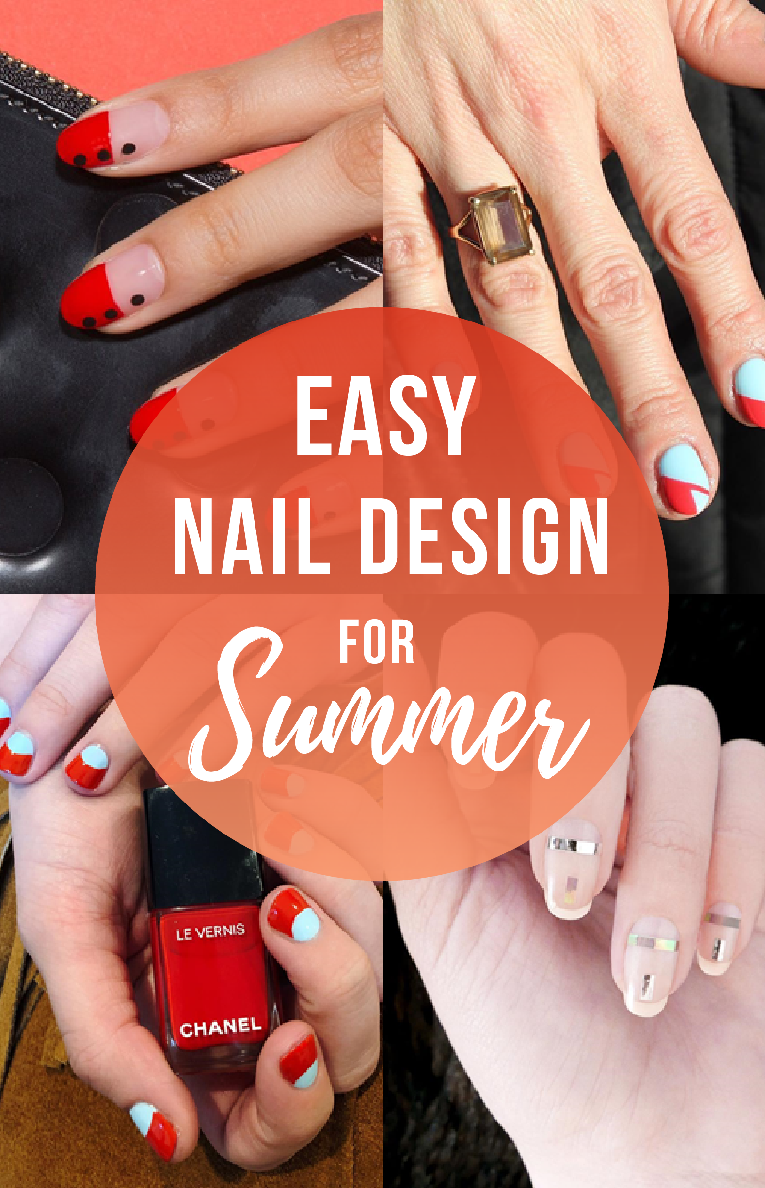 easy nail design ideas be fashionabl blog pinterest