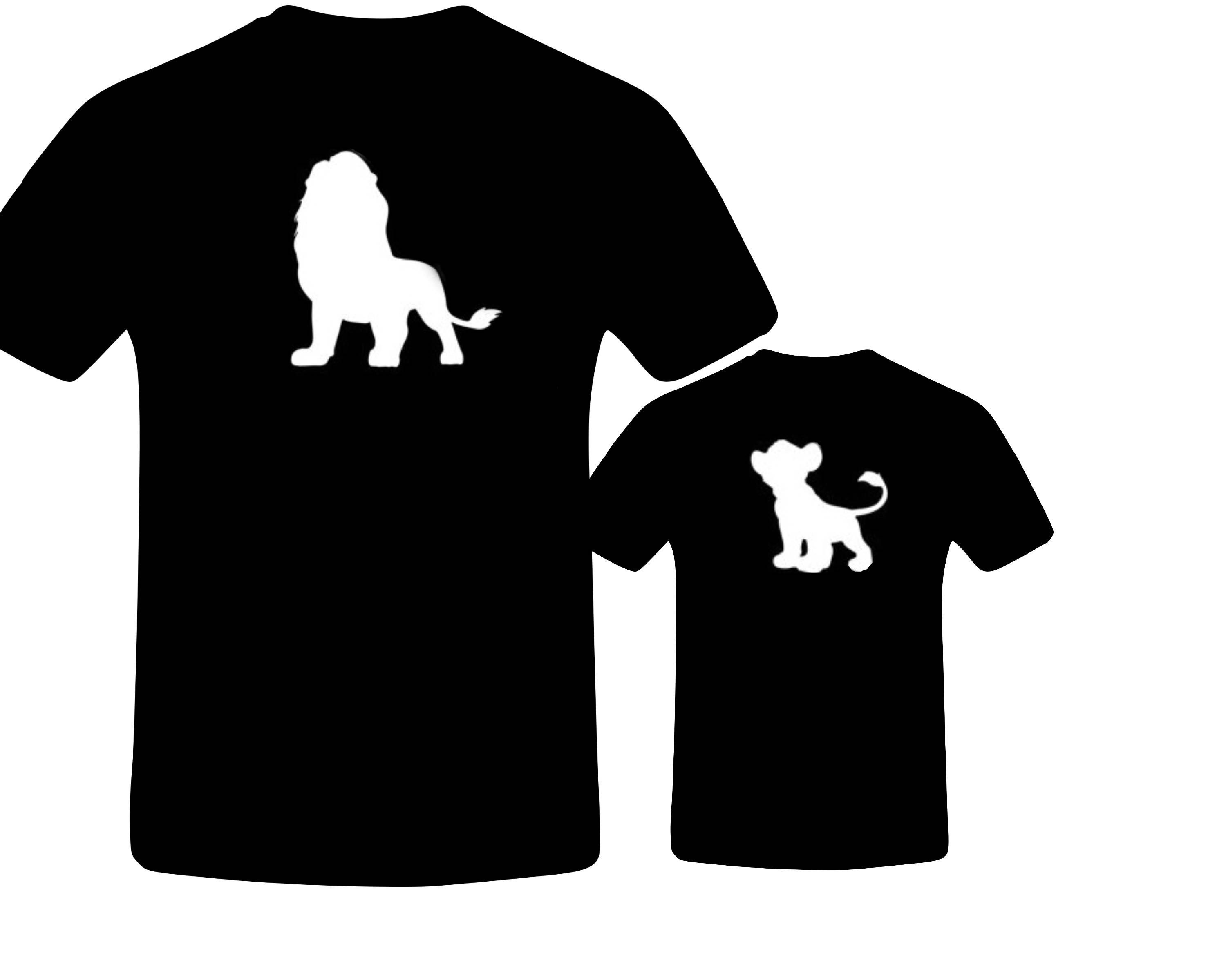 bb5f18d4d2f28 Daddy and Me Outfits, Lion King Shirt, Daddy and Son, Matching ...