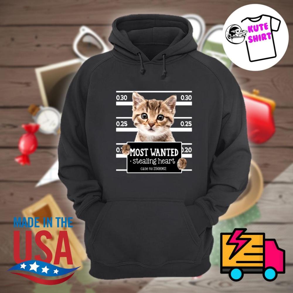 Cat Most Wanted Stealing Heart Case No 2568962 Shirt Hooded Sweatshirt Men Varsity Jacket Men Unisex Hoodies [ 1000 x 1000 Pixel ]