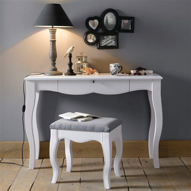 bureau coiffeuse tabouret lison bureau coiffeuse lison et la redoute interieurs. Black Bedroom Furniture Sets. Home Design Ideas