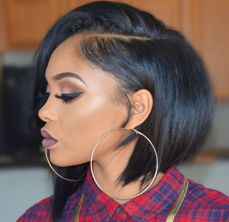 33 Stunning Hairstyles for Black Hair 2018 | Pinterest | Black bob ...