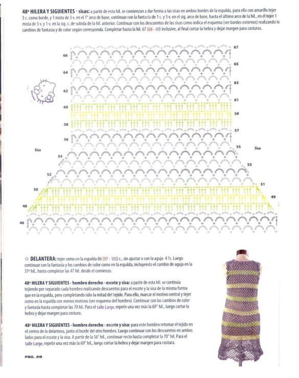 Gallery.ru / Foto # 27 - Tejido practico Crochet Calados 2012-04 ...