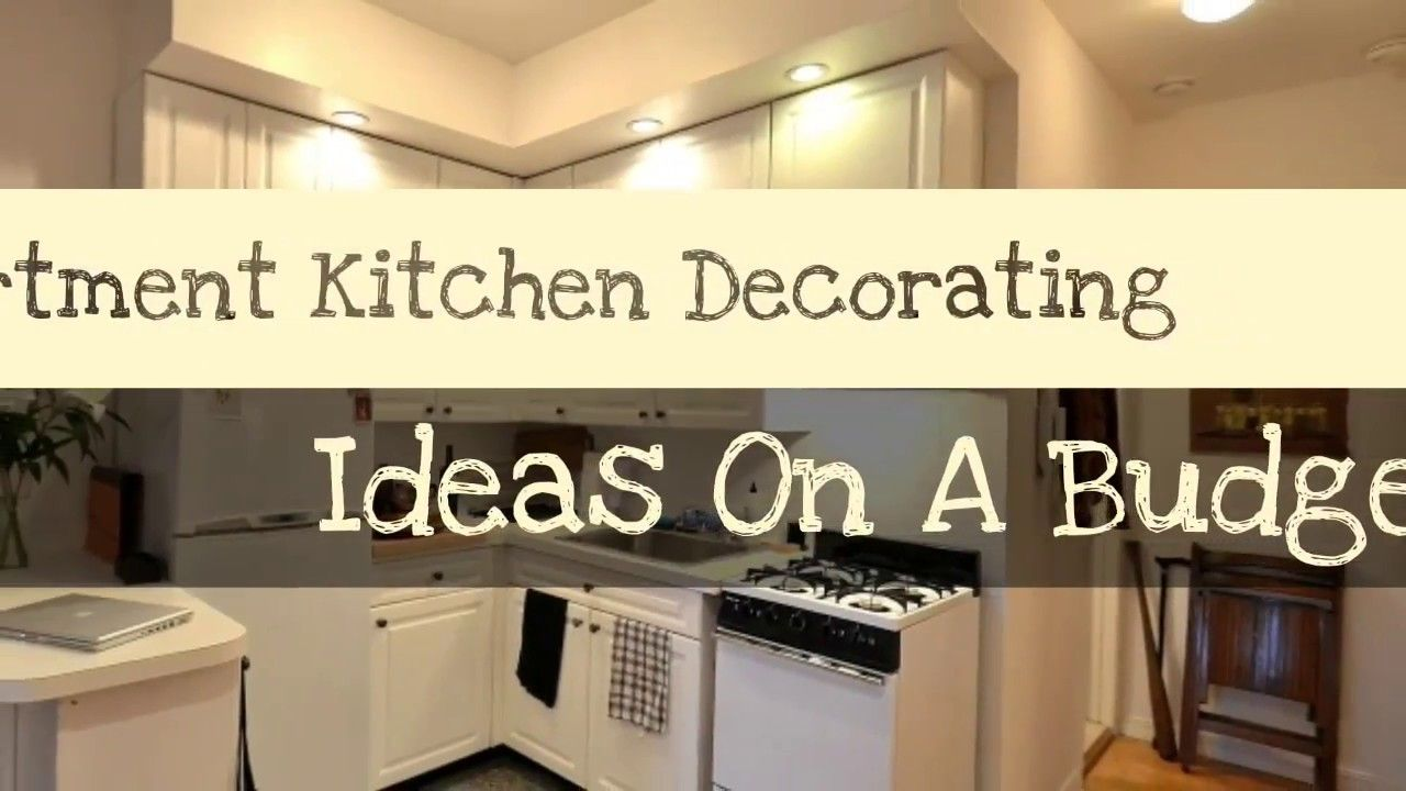 how to make your apartment kitchen decorating ideas on a budget