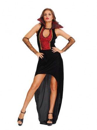 Ladies Vampiress Sexy Halloween Fancy Dress Costume Vampire - slutty halloween costume ideas