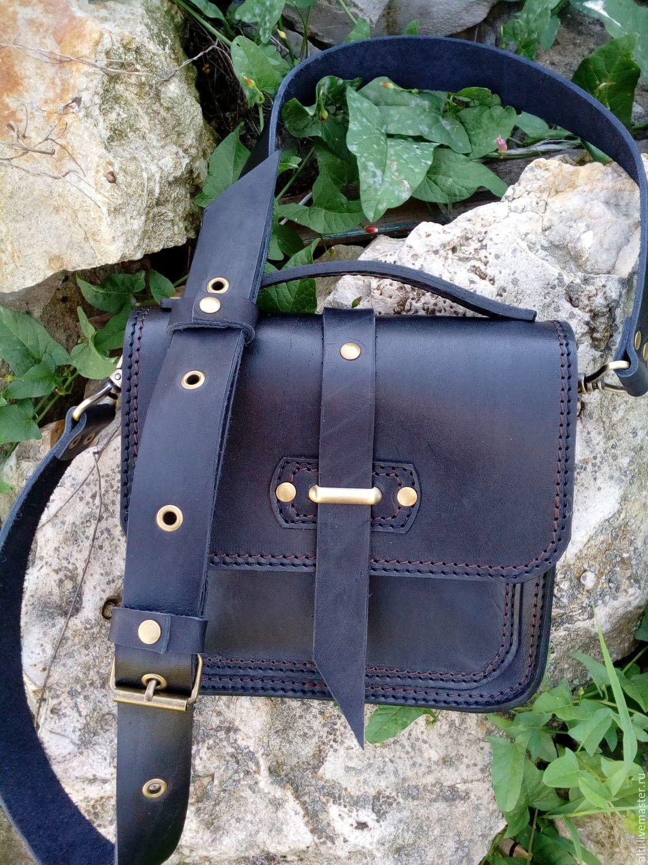 c67004fdb4f7 Мужские сумки ручной работы. Ярмарка Мастеров - ручная работа. Купить Сумка  из натуральной кожи
