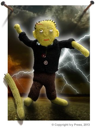 Frankenstein's Monster Pattern | Deramores | knitted toys