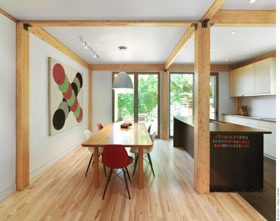 Un ancien poulailler de Villeray remis au goût du jour par Moa Architecture