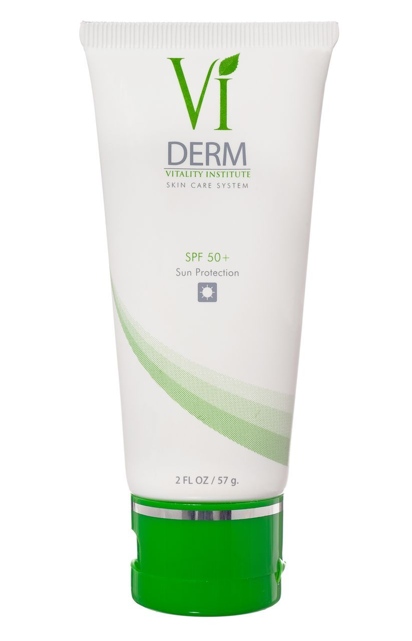 Vi Derm Spf 50 Your Skin Will Thank You The Combination Of Titanium Dioxide And Octinoxate Provides A 98 Protection From Uva An Chemical Peel Derm Oil Free