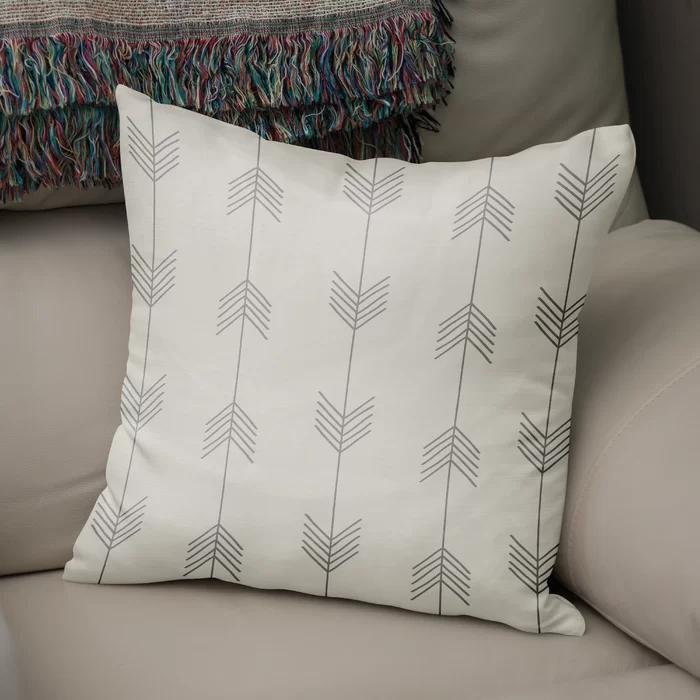 Manzi Cotton Geometric Throw Pillow Geometric Throw Pillows Throw Pillows Geometric Throws