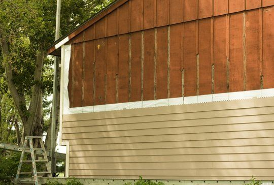 How Much Did It Cost To Replace Your House Siding House Siding Vinyl Siding Window Installation
