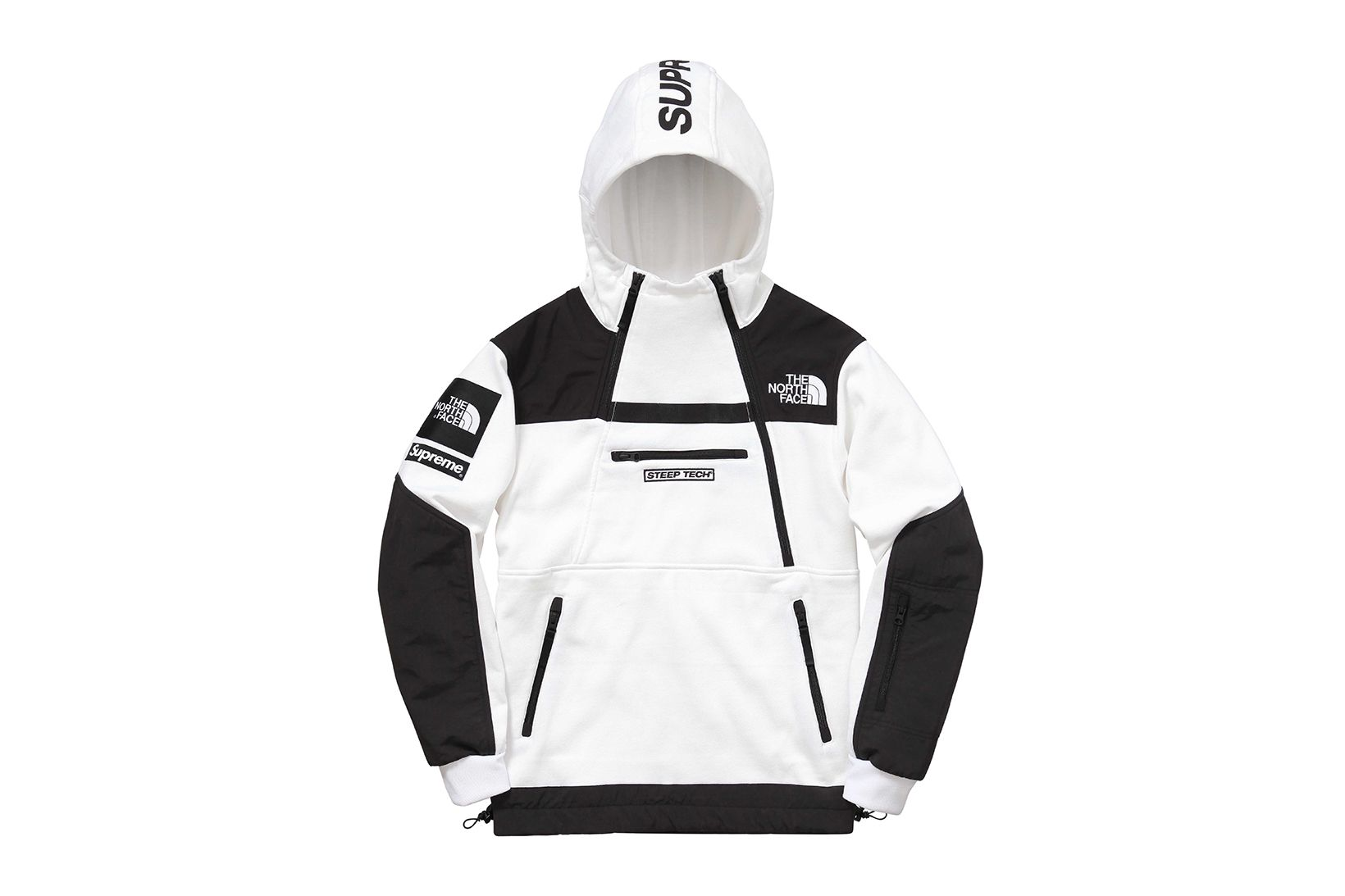 Supreme X The North Face 2016 Spring Summer Collection Supreme Clothing North Face Jacket Tech Hoodie [ 1093 x 1640 Pixel ]