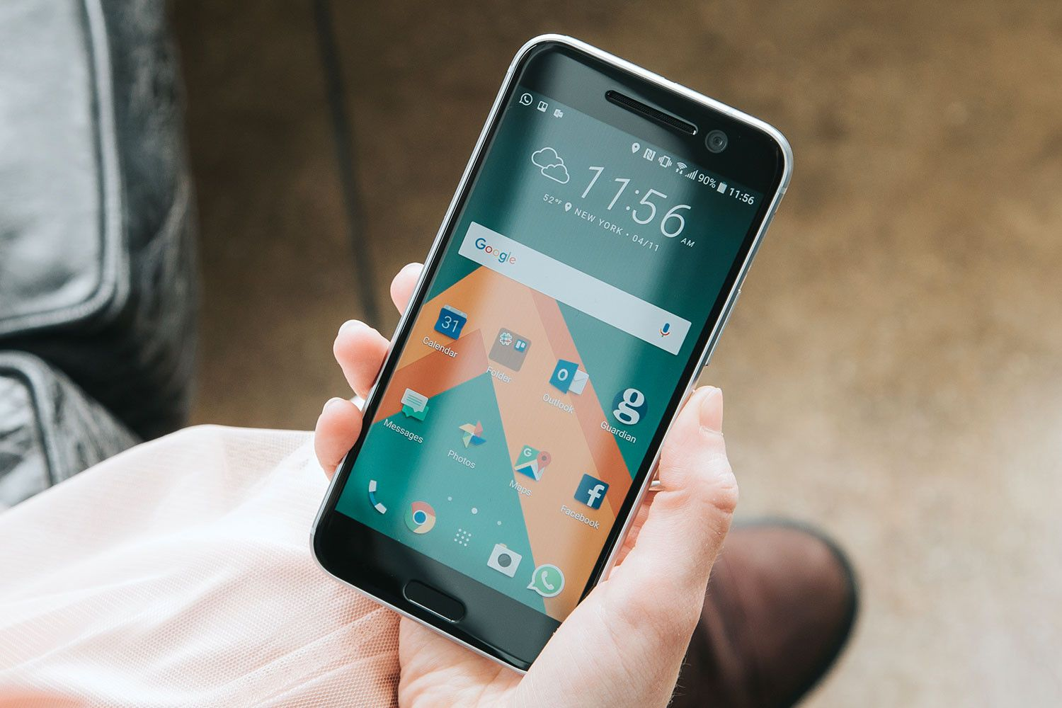 HTC springs back from the mat and swings harder than ever