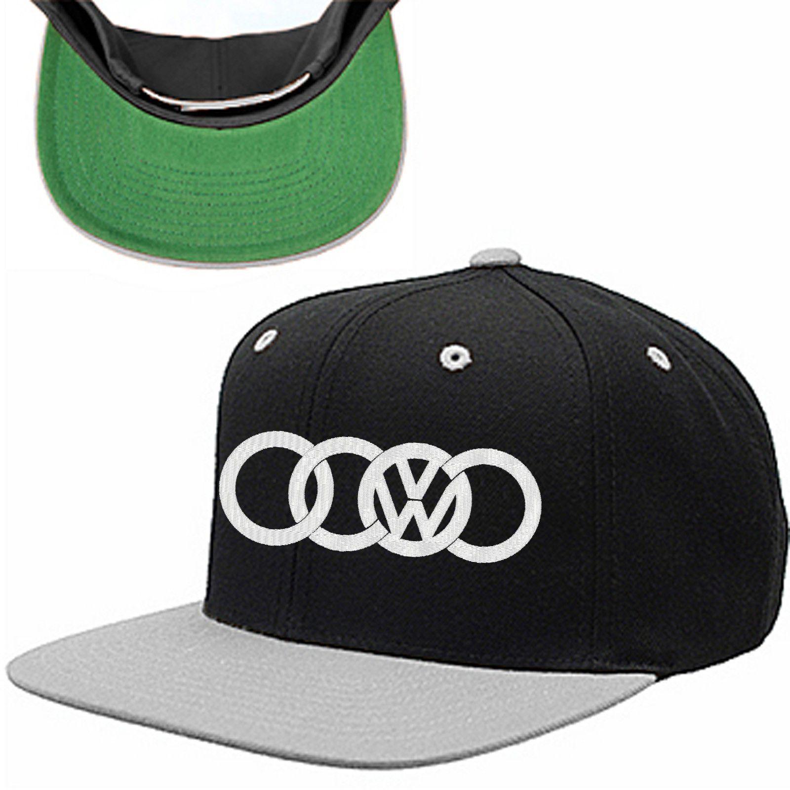 4b7d54db37497 Audi Volkswagen Snapback Hat