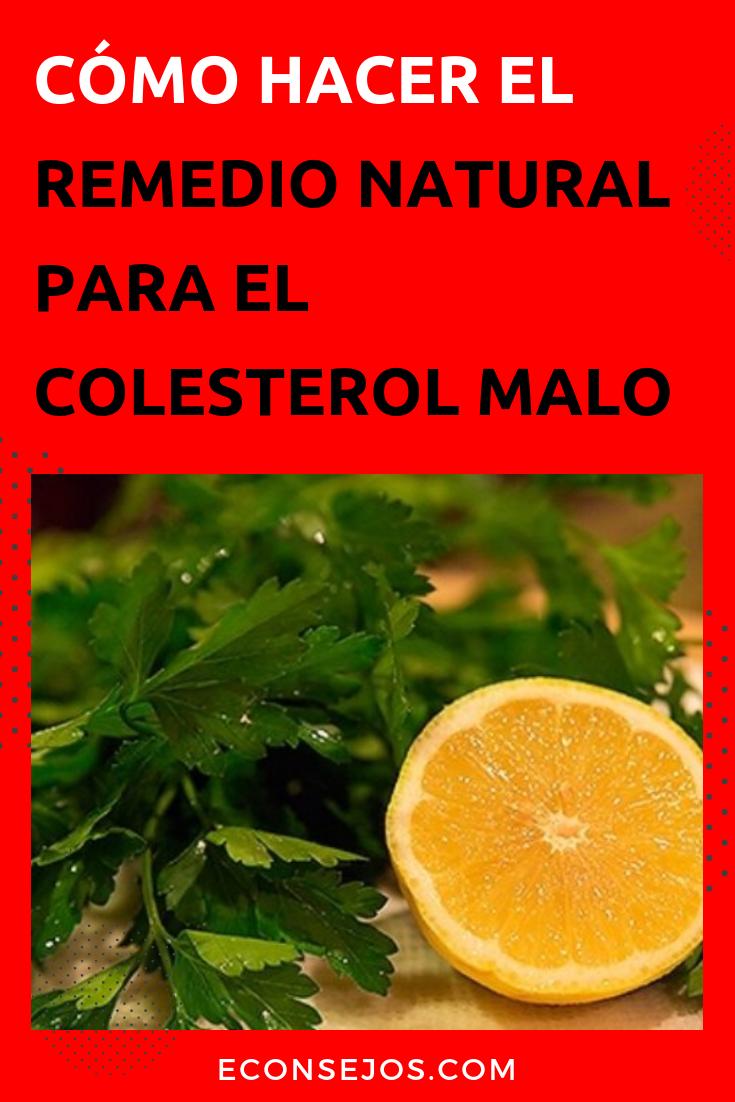 medicamento natural para los trigliceridos y colesterol