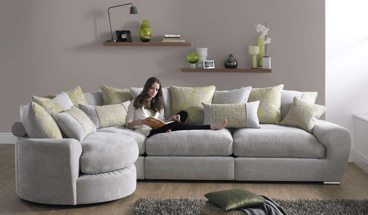 Milanese Fabric Sofa Range Sofaworks Fabric Sofa Small Living Room Decor Sofa #small #living #room #corner #sofa