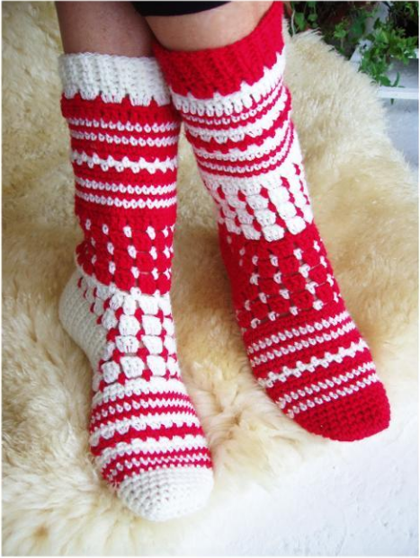 How to Crochet Socks: Top Tips & Patterns | Kleidung häkeln, Häkeln ...