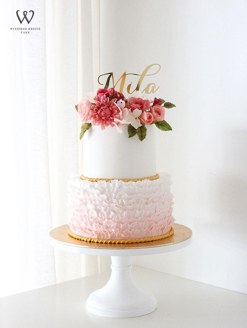 Customising Wedding Cakes With Winifred Kriste Cake
