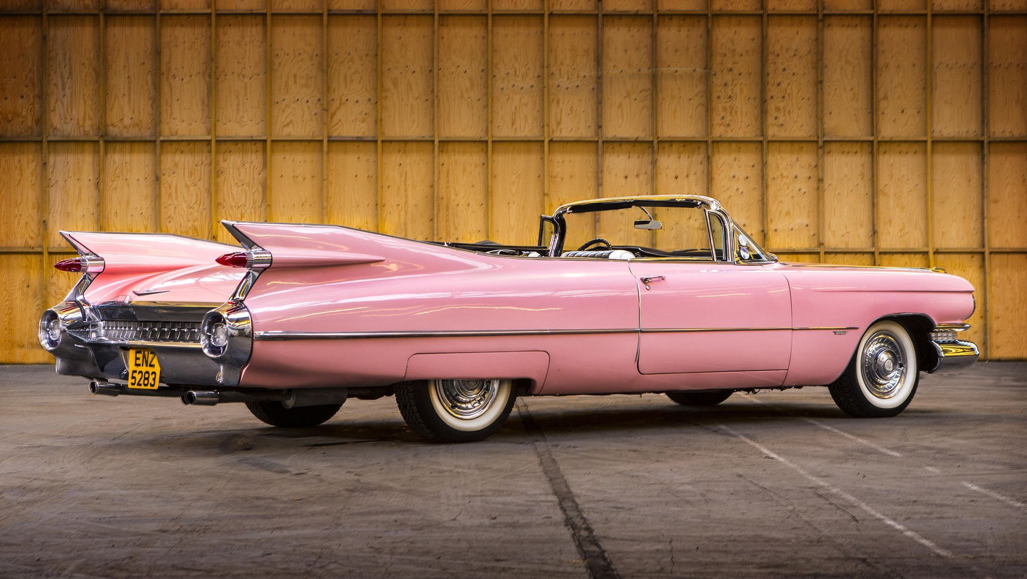 "1959 Pink Cadillac from ""Pink Cadillac"" heads to auction 
