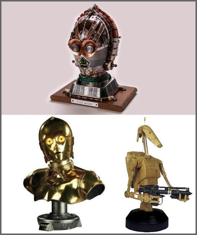 Bustos Star Wars - Peças que fariam sucesso na sua sala! #mini #starwars