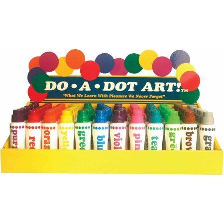Do-A-Dot Paint Markers, 72pk - Walmart.com
