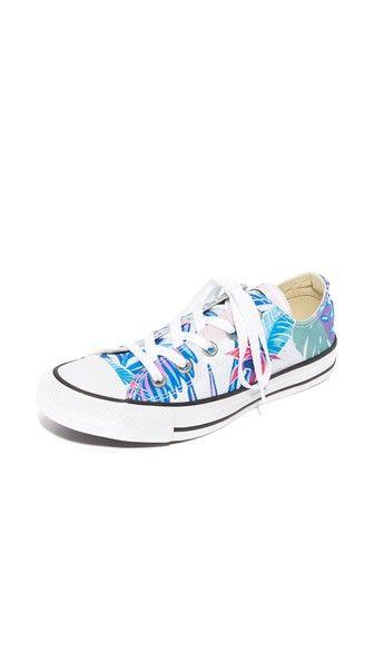 f2ea15579f629 Converse Chuck Taylor All Star Oxford Tropical Print Sneakers