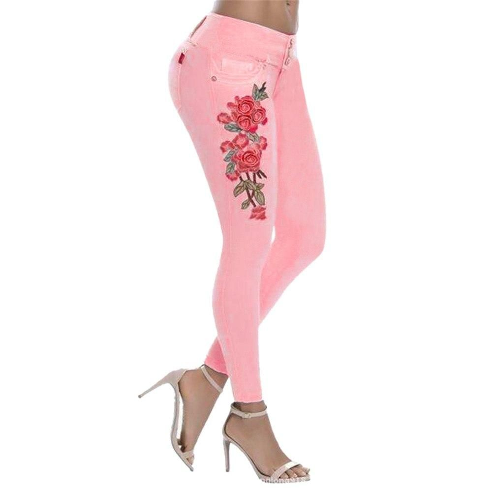 Photo of Women's Fashion Embroidered Jeans – PK / 5XL