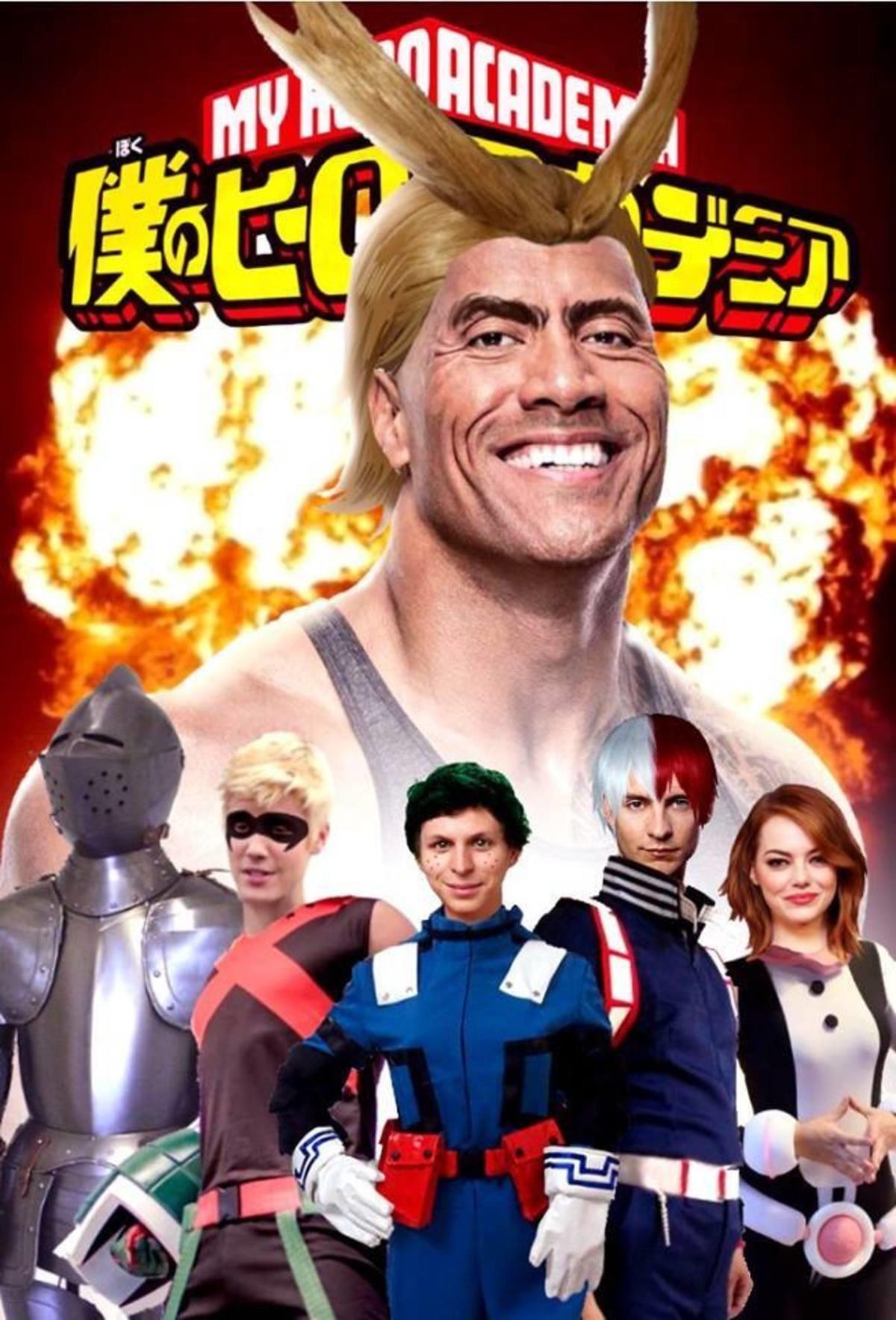 My Hero Academia Live Action My Hero Academia Anime Engracado Memes De Anime Fotos De Anime Engracada