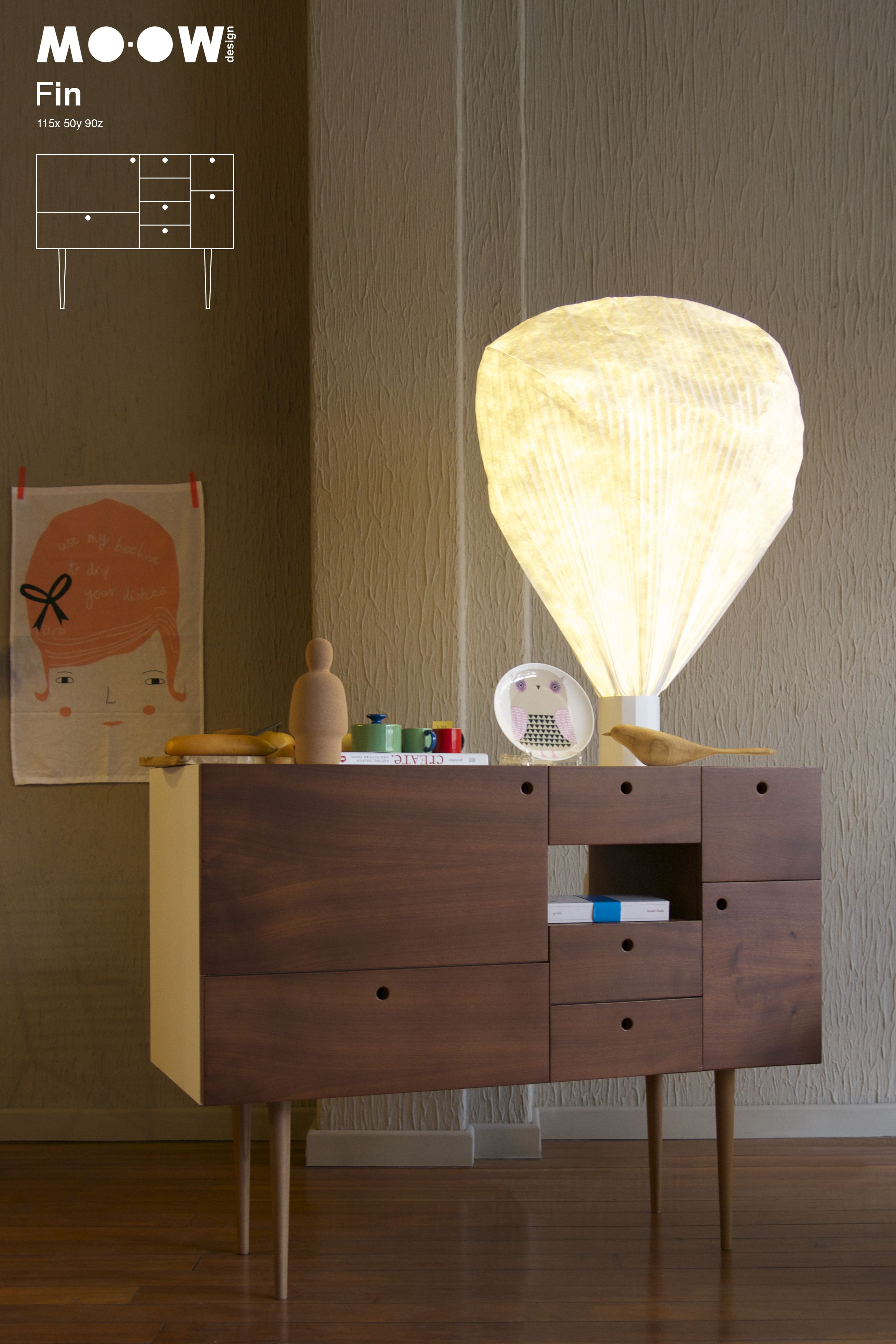 MO-OW Fin  at Mundano store, Oporto  http://mo-ow.com/MoProducts_Storage_Ffin.html