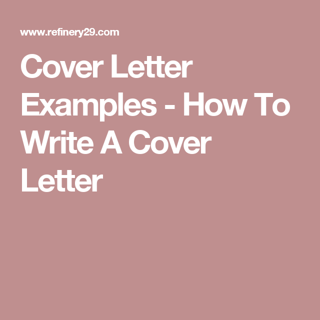 30 Cover Letter Rules You Didn't Even Know You Were ...