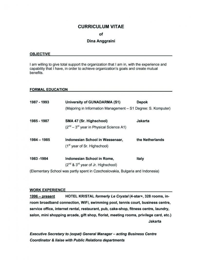 tags good resume for restaurant job objectives food server
