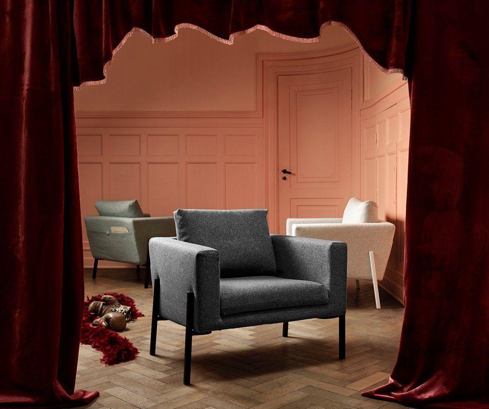 Un Fauteuil Bas Scandinave IKEA Assises Seats Pinterest - Fauteuil bas scandinave