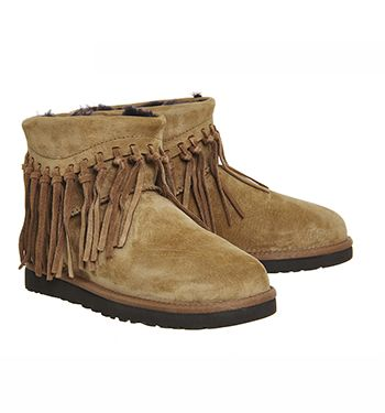 School Shoes, Fringe Boots, Suede Ankle Boots, Uggs, Ugg Australia, Fringes, High School, Outfit Ideas