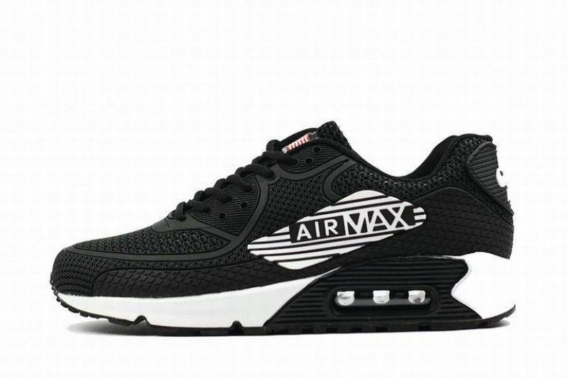 Mann Nike Air Max 90 Schwarz Weiss Rot Airmax Nike Air Max Nike Air Max Weiss Nike
