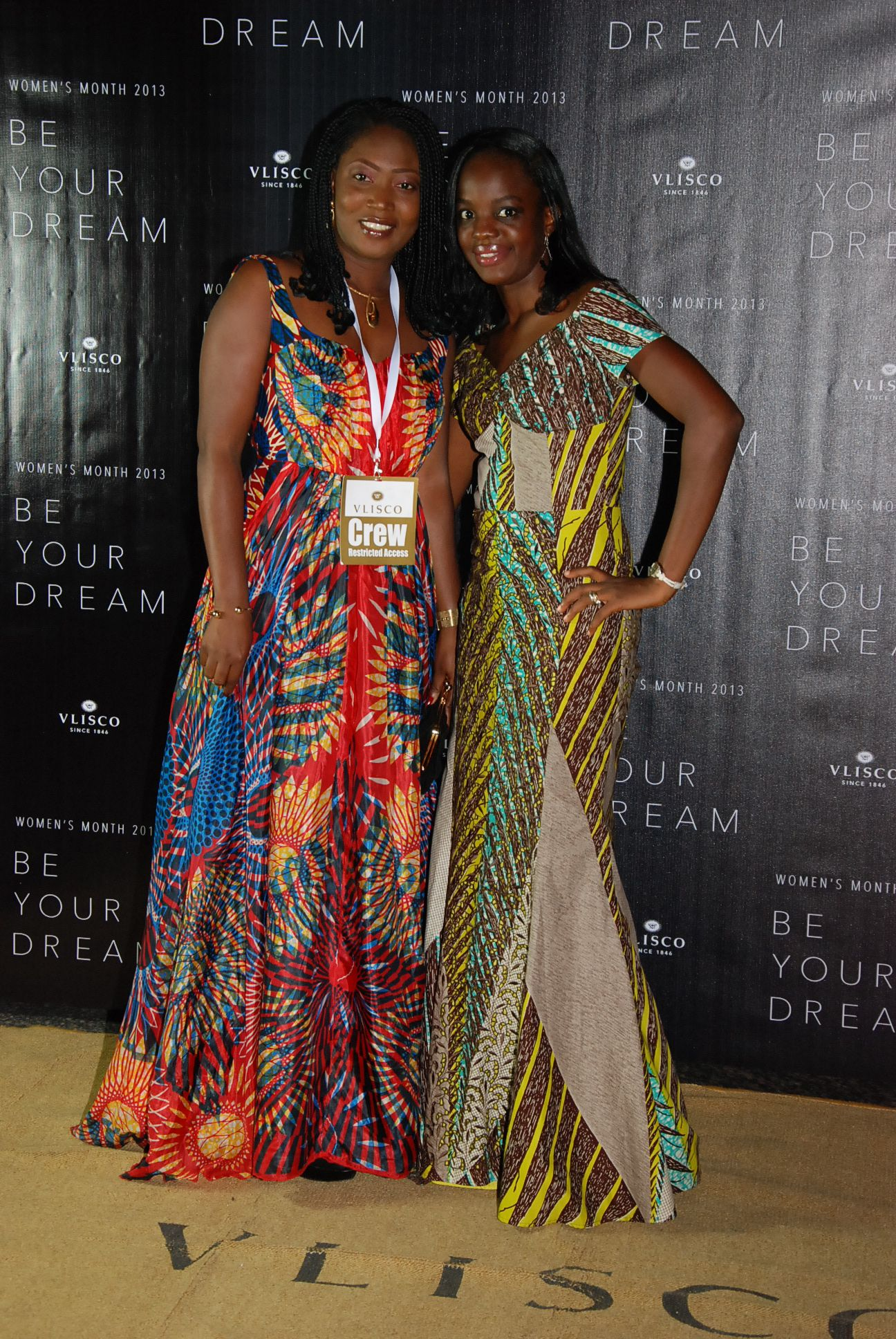 """Enjoy a glimpse of the Vlisco Dutch Wax Textile Co. initiative, """"Be Your Dream"""" Award Nights held in several African countries. More information you'll find at: http://beyourdream.vlisco.com"""