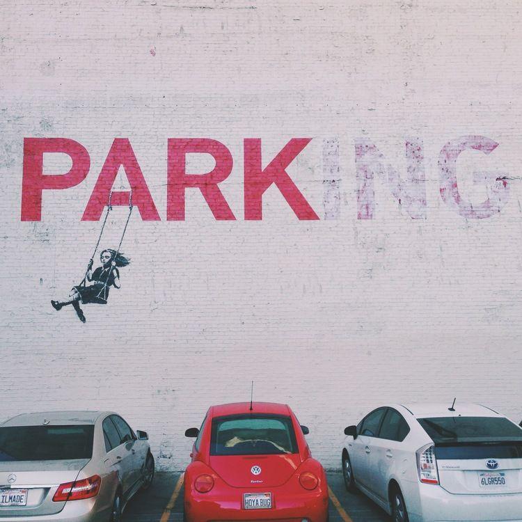 Park(ing) Banksy Piece #banksy