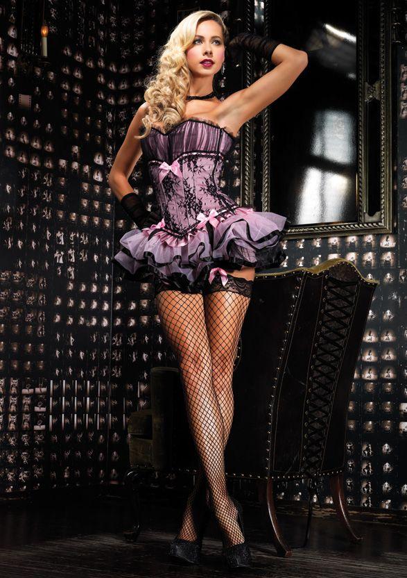 Sexy burlesque outfit
