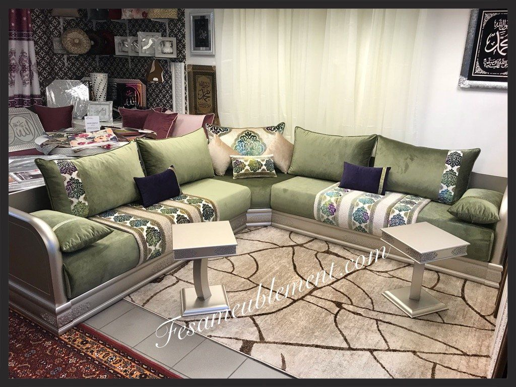 Salons Marocains Salons Orientaux Salons Modernes Moroccan Living Room Home Home Decor