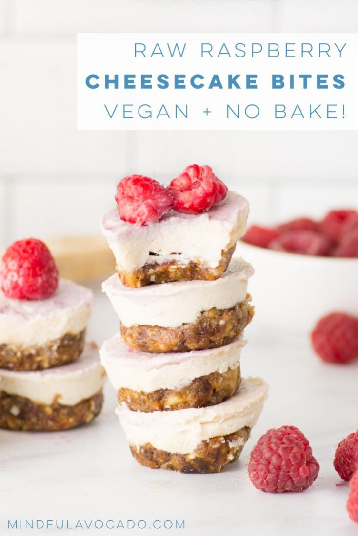 Raw cheesecake bites are vegan, healthy, and easy to make! This no bake recipe has fresh fruit and are so delicious! cheesecake bites are vegan, healthy, and easy to make! This no bake recipe has fresh fruit and are so delicious! | mindfulavocado