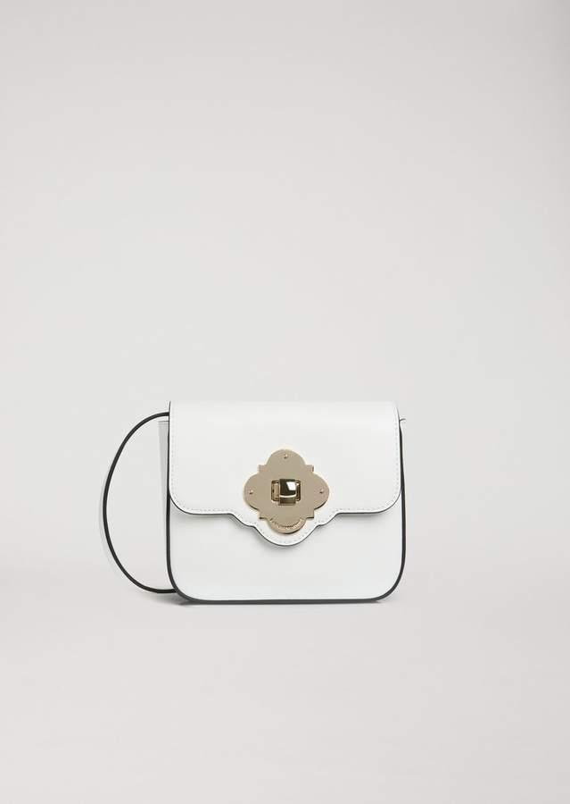 f032afa43f Emporio Armani Smooth Leather Crossbody Bag   Products   Leather ...