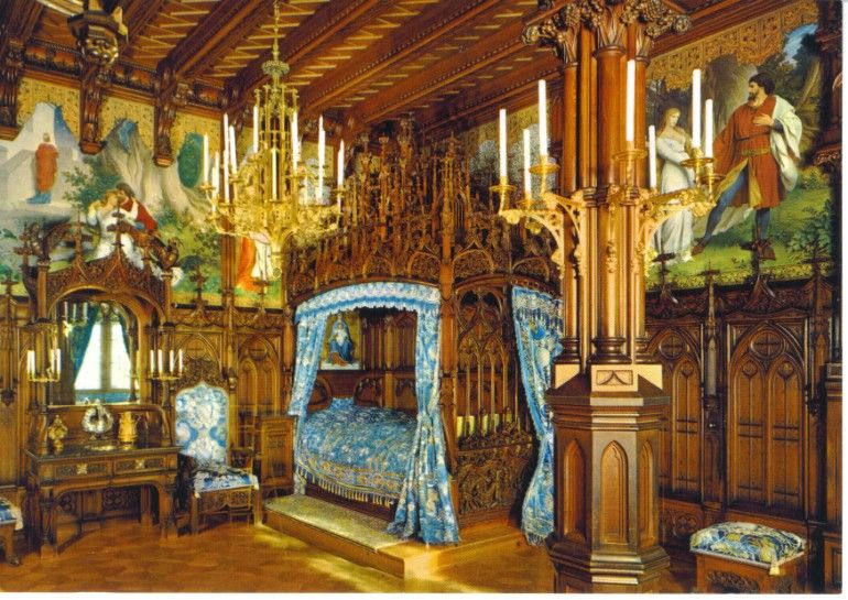 Opulente Schlafzimmer Von Beruhmten Palasten Kingsize Malmaison Winterpalace Luxor Portugal Schloss Schlafzimmer Deutschland Burgen Schloss Neuschwanstein