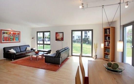 ... Fertighausnet   Wohnideen   Wohnzimmer Klassisch Modern Home   Wohnzimmer  Klassisch Modern ...