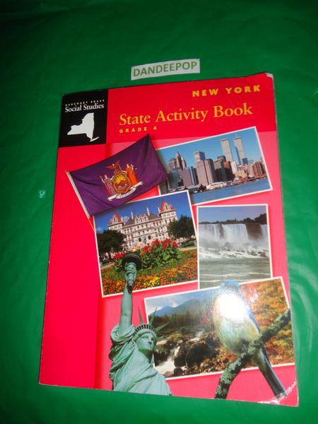 Harcourt Brace New York State Activity Book Social Studies Grade 4 1993 Find Me At Www Dandeepop Com Book Activities Books Social Studies