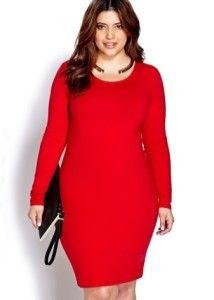 19 Vestidos Rojo Para Gorditas En 2019 Vestidos Rojos Para
