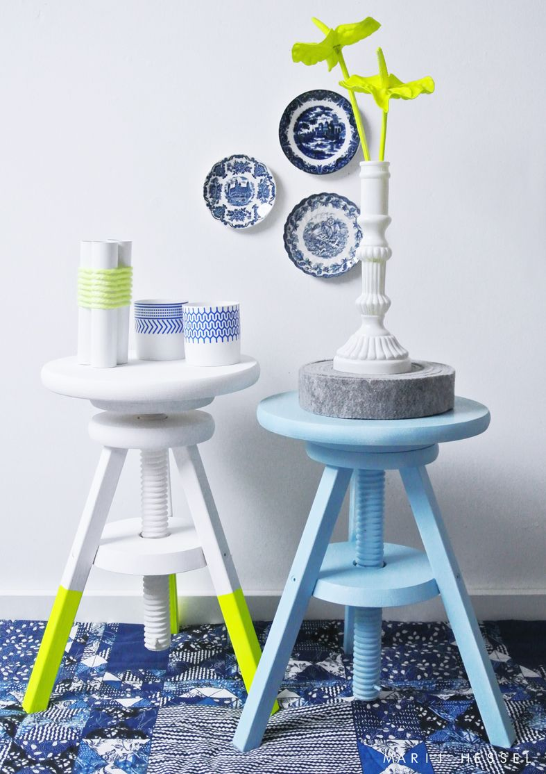 Vs Meubilair Blue Vs Neon Hint Of A Colour Blue Pinterest