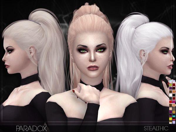 Stealthic Paradox Female Hair Sims Hair Womens Hairstyles Sims